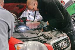 Audi vehicle repair at Reedley Service Centre