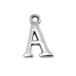 Metal Letter A Pendant Charm