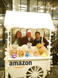 Amazon offices Corporate event Sweet Cart Hire