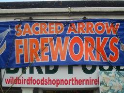 FIREWORK SHOP N.IRELAND