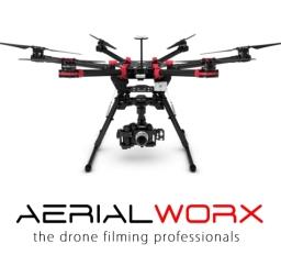 Aerialworx Drone Filming Logo