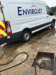 unblocking drain in Harrogate