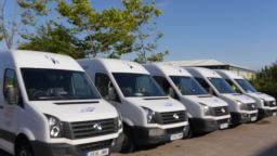 Saturn Distribution Services Vans