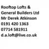 Roof Top Lofts & Gen Builders