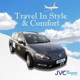 5 star Airport taxi and transfers by JVC Taxis