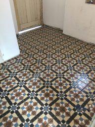Tiled floor Bristol