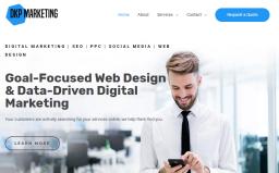 DKP Marketing homepage
