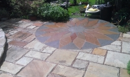 Under all that a very pretty patio , patio cleaning nottingham