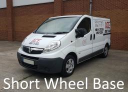 Short Wheel Base transit vivaro