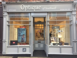 Optique of Southwell Opticians outside view