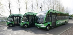 TDS Entrance Doors on NCT Electric Optare Solos