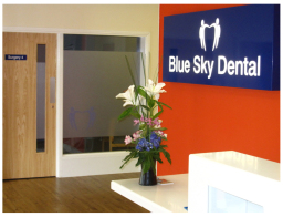 Blue Sky Dental Bathgate - Reception