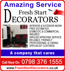 Fresh Start Decorators logo