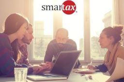 Smartax Business Picture With Logo R