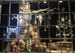 Christmas window Display by Flower Design, Ripon