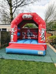 Dalmations bouncy castle