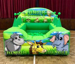JUngle Inflatable ball pool