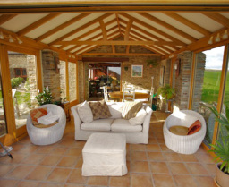 Award winning oak garden room consevatory