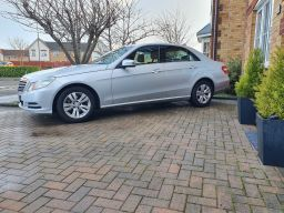 Executive Chauffeur Driven E-Class Mercedes