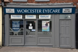 Worcester Eyecare shopfront