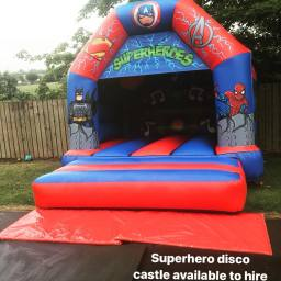 super hero disco castle