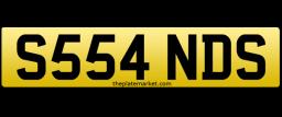 Sands Sandra personalised number plate