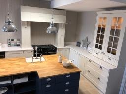 shaker kitchen display