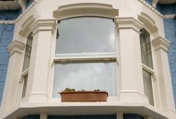 Timber Sash Window Bay
