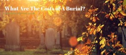 what is the cost of burials in the uk