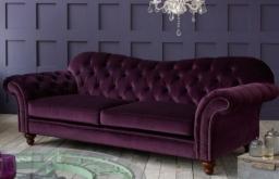 Crompton Fabric Chesterfield Sofa