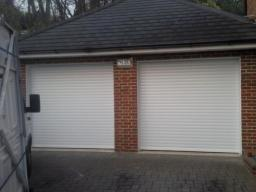Priory automated roller shutters