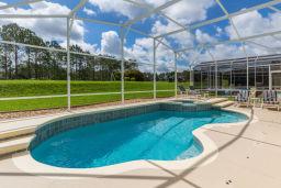 Typical Villa Pool View
