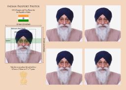 Indian Passport/Visa/OCI photos