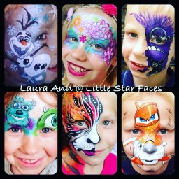 Little star faces Face painting