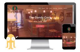 The Dandy Cock - By Pulpo Design.