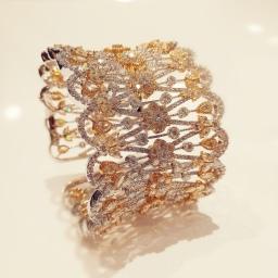 Diamond Cuff