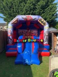 Superhero's slide combo bouncer