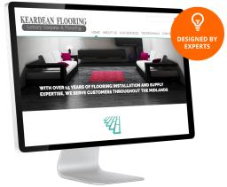 Keardean Flooring website