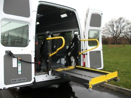 Wheelchair Accessible Minibus