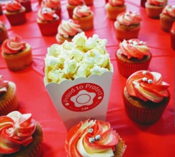 branded popcorn boxes corporate event london