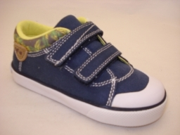 Garvalin Blue Canvas Shoe Ideal for Spring/Summer