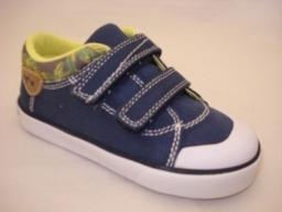 Garvalin Blue Canvas Shoe Ideal for Spring/Summer
