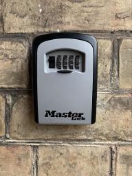 Masterlock keysafe supplied & fitted