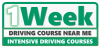 One Week Driving Course Near Me