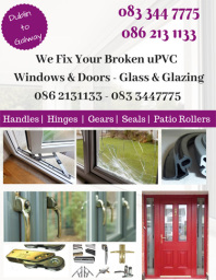 pvc window repair door repairs patio glass glazing