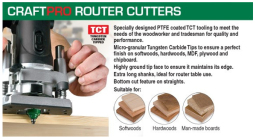 CraftPro router bits