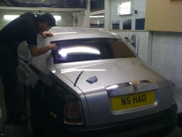 rolls royce car window tinting