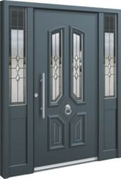 aluminium front doors as displayed on doorwins web