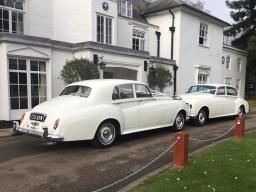 Silver Cloud Rolls Royce wedding cars