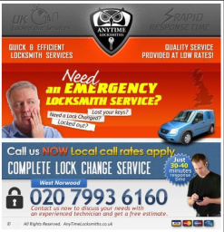 locksmith service in West Norwood